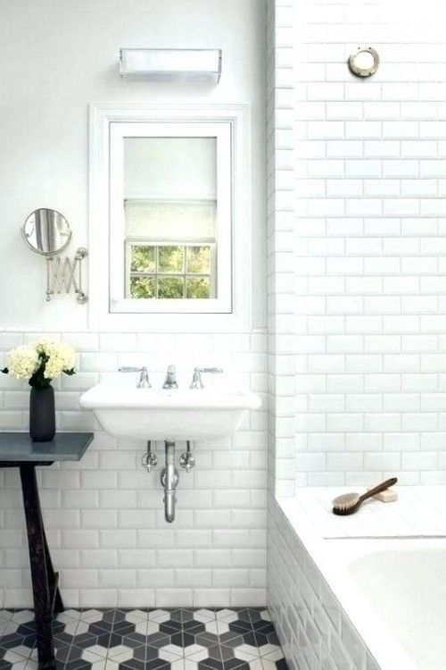 Retro Style Bathroom Ideas Dining Room Woman Fashion Decoration Furniture White Beveled Subway Tile Beveled Subway Tile Bathrooms Remodel