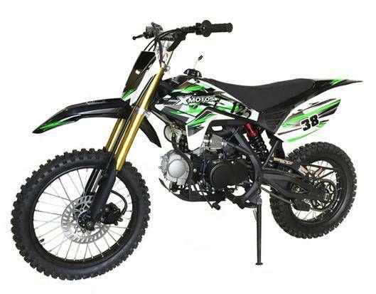 Xmotos 125cc Dirt Bike Features 125cc Dirt Bike 4 Stroke Single