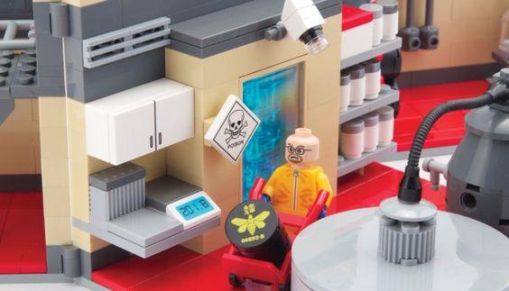 Lego Breaking Bad http://buenespacio.es/lego-breaking-bad-no-oficial.html #lego #breakingbad #juegos