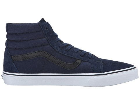 Vans Men's Sk8 Hi Reissue C&P Shoes - Dress Blues/Black