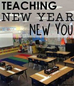 Teaching: New Year, New You! Practical things you can change in your classroom that can hugely impact your environment and classroom culture. Changes can be made at any point in the year! Don't wait - your students only have one chance at this grade level.