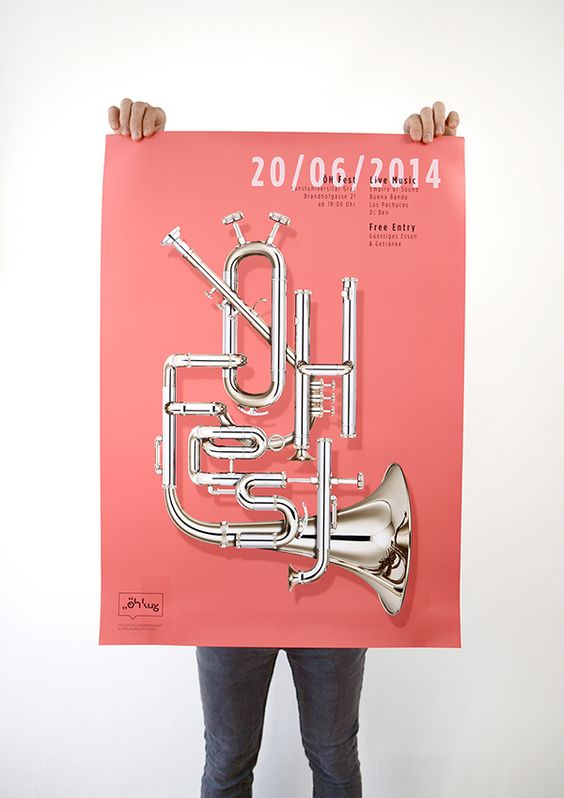 ÖH-Fest Posters on Behance