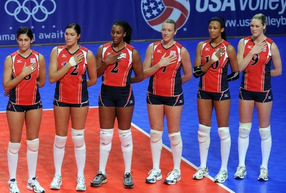 London 2012:  U.S. Women's Volleyball Team