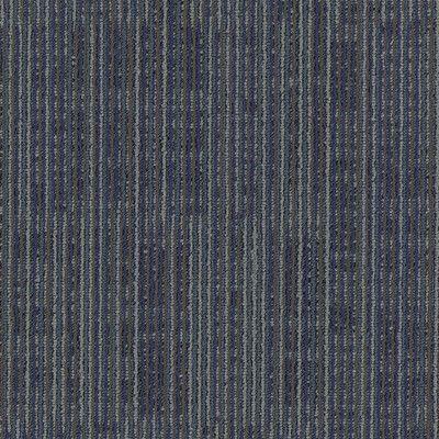 "Mohawk Aladdin Get Moving  24"" x 24"" Carpet Tile in Blue Stream"