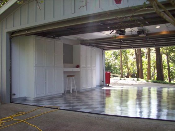 Drive Through Garage 2 Garage Doors Allows Access To The