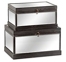 Home Accents Storage Box (Set of 2)