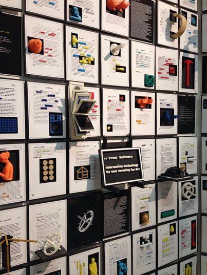 Media et Archéologie, Crafting, Exposition, Computing Without computer, Data Data, ensba, Lyon, Salon de Montrouge recherche, Florent, Lagrange,