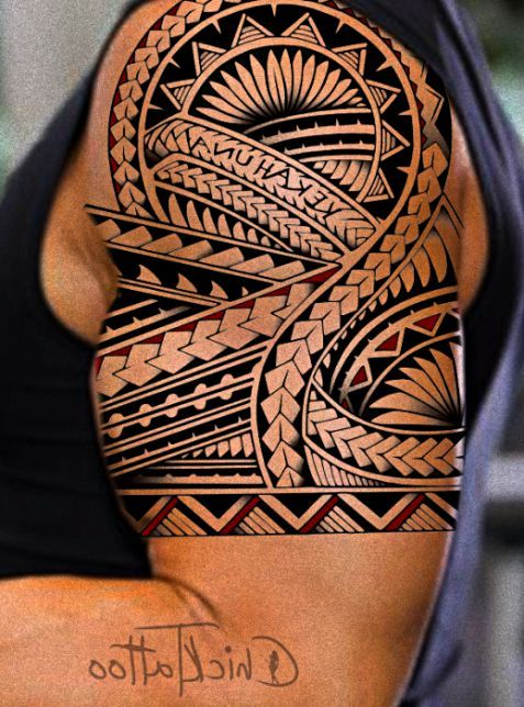 What Makes Polynesian Name In 2020 Tattoos Tribal Shoulder Tattoos Polynesian Tattoo Designs