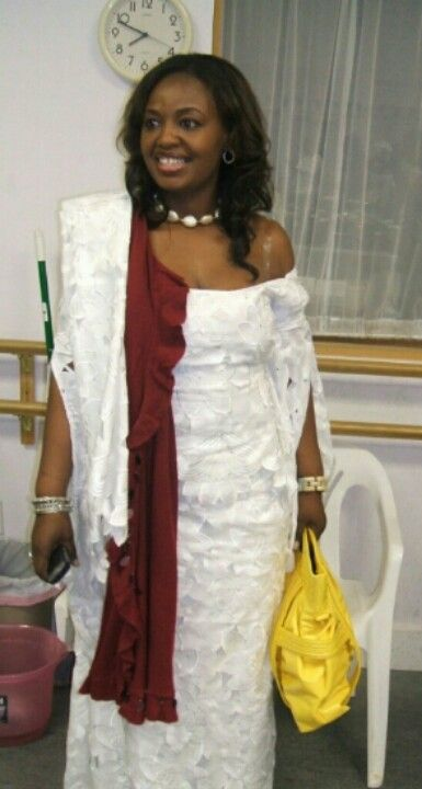 Traditional african outfit..