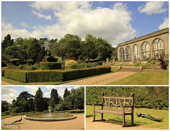 The Warwick Castle - The Conservatory and Peacock Garden