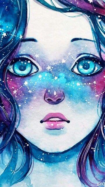 Pinterest the world s catalog of ideas - Galaxy wallpaper for girls ...