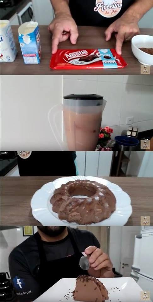 Pudim De Chocolate Receita Do Canal Tempero Caseiro 94