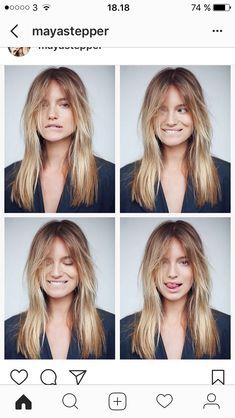 Image Result For Wispy Curtain Bangs Long Hair Styles Hair Styles Long Layered Hair