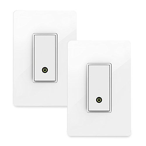 Wemo Light Switch 2 Pack Wi Fi Enabled Works With Amazo Https