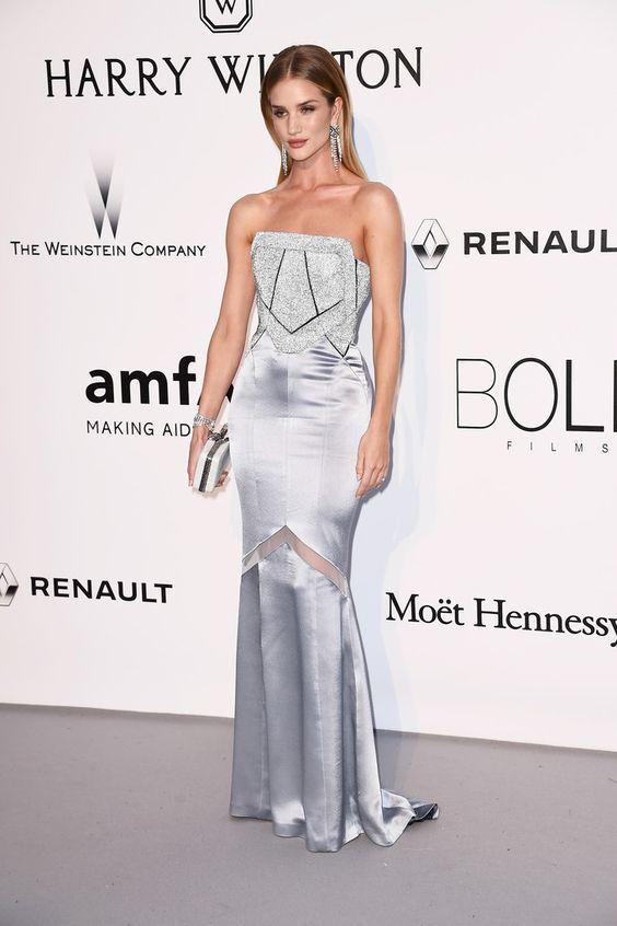 "dailyrhw: """" Rosie arrives at amfAR's 23rd Cinema Against AIDS Gala at Hotel du Cap-Eden-Roc on May 19 in France "" """