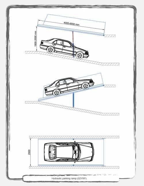 Awesome Parking Garage Ramp Slope Strategy Diseno De Planos