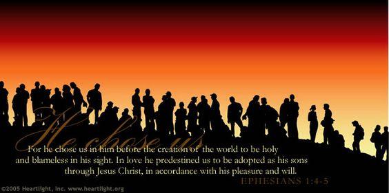 He chose us!: