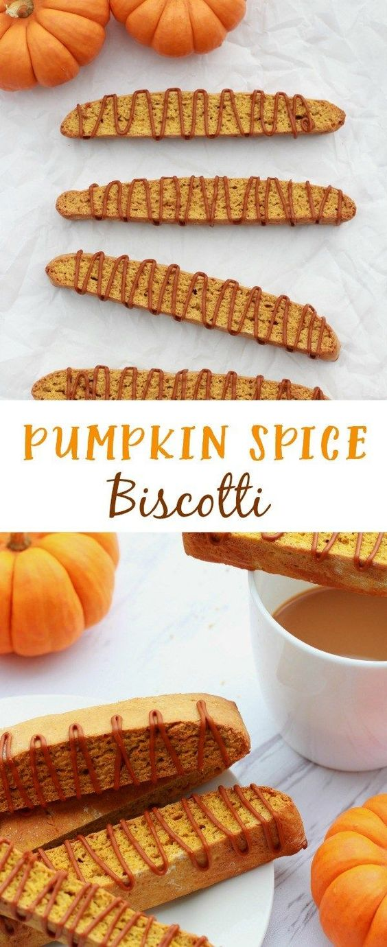 Pumpkin Spice Biscotti - The Lucky Pear