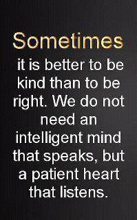 Kind vs. Right