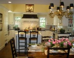 """Benjamin Moore Color """"weston flax."""" Love this color in a kitchen."""