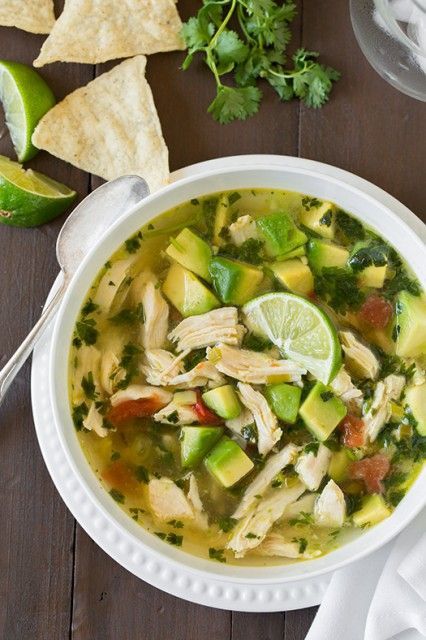 Chicken+Avocado+Lime+Soup #Whole30: