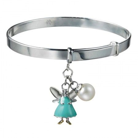 Christening Peppermint Aurora Fairy Bangle