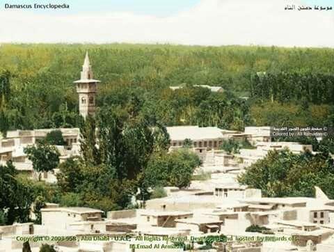 جامع مز القصب السادات شارع الملك فيصل Damascus Damascus Syria Paris Skyline