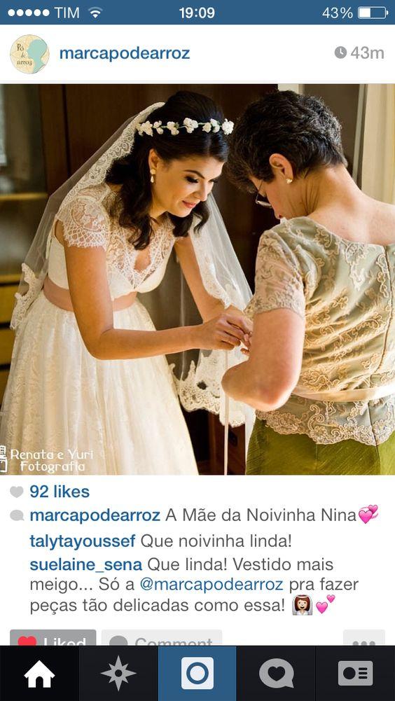 Eu não corto a imagem do instagram pra deixar os créditos da foto, caso alguém queira procurar mais sobre..;) -gostei muito do vestido!!