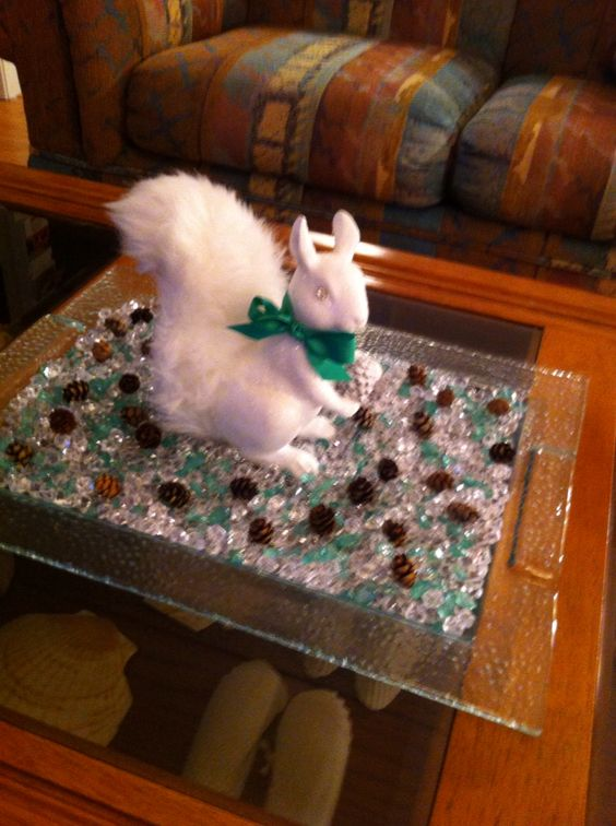 The fabulous Christmas squirrel!