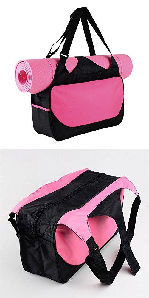 Yoga Bag Women Shoulder Bags For The Essentials Yuiop Tote Bags Waterproof Yoga Mat Carrier Gym Bag Stylish Lightweight Shoulder Bag Women Yoga Bag Shoulder Bag