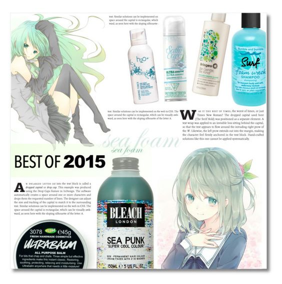 """""""Hair -best of 2015"""" by dolly-valkyrie ❤ liked on Polyvore featuring beleza, Briogeo, Venus, Bumble and bumble, H2O+ e bestof2015"""