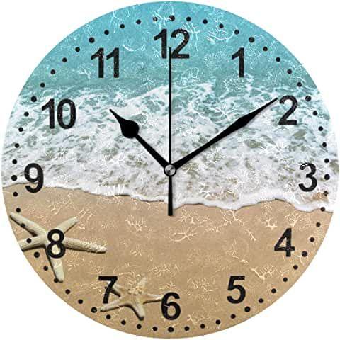 Amazon Com Wall Clocks Large Decorative Home Kitchen In 2020