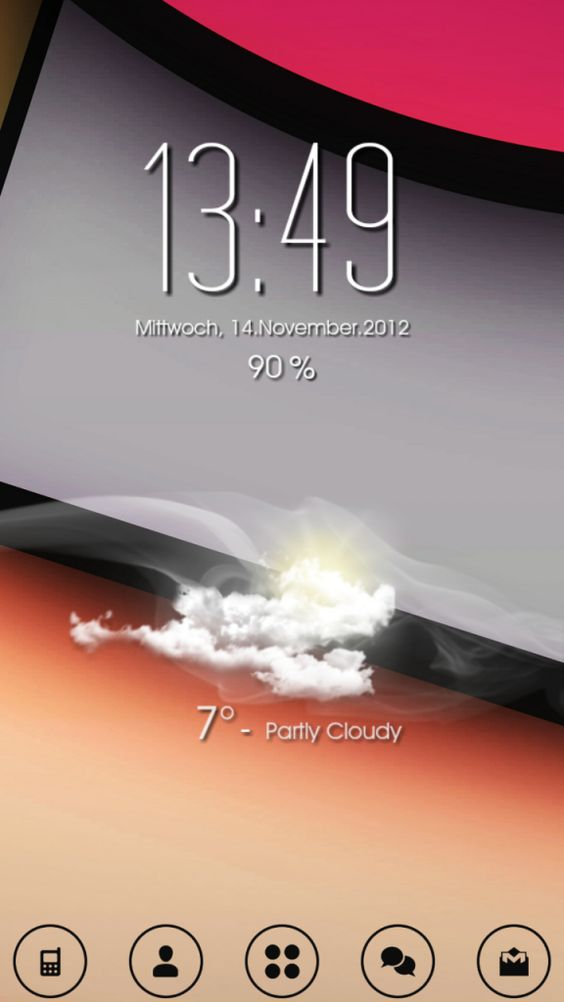 Android Homescreen 14.11.2012