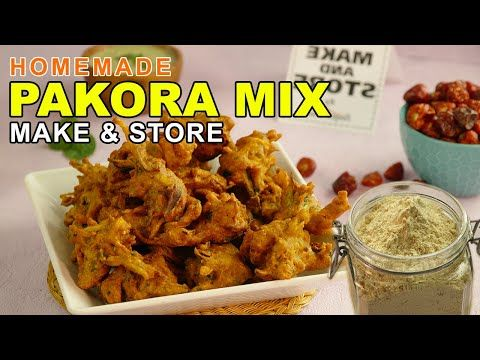 Pakora Mix Recipe Learn How To Make Crispy Vegetable Pakora With