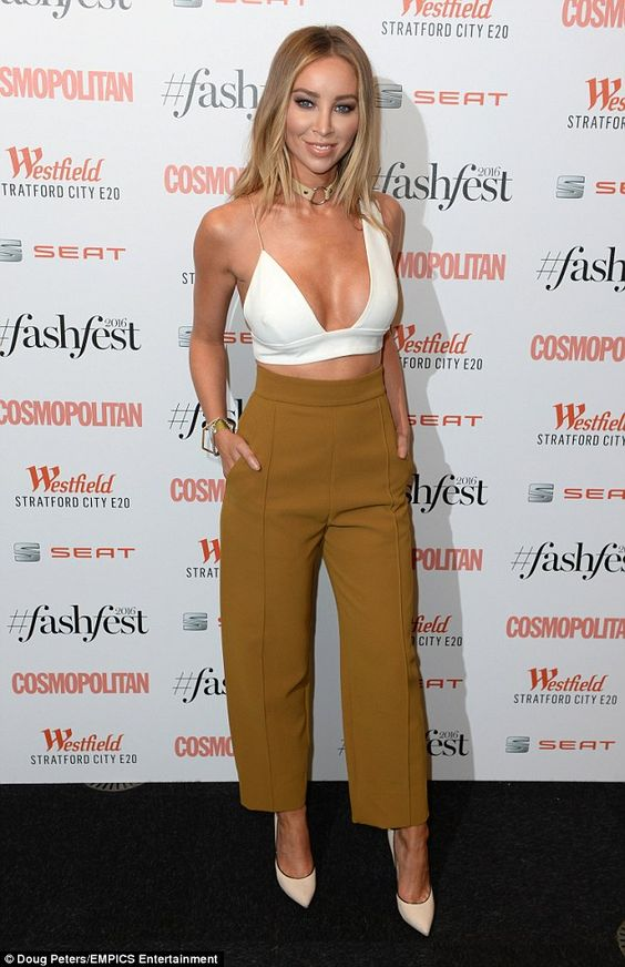 Celebrity-packed: joined a menagerie of reality stars at the Old Billingsgate…