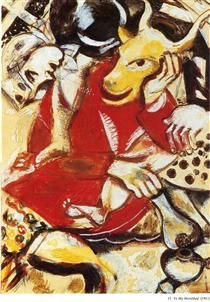 To My Betrothed - Marc Chagall