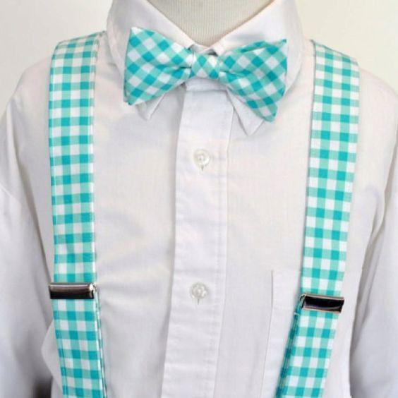 Bowtie and suspenders