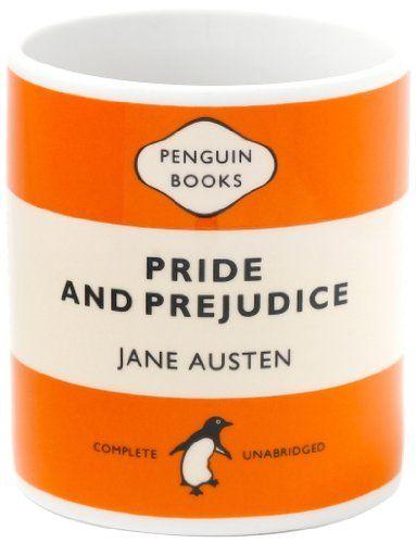 Penguin Mug: Pride and Prejudice (Orange)