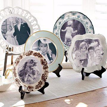 Photo Plate Display