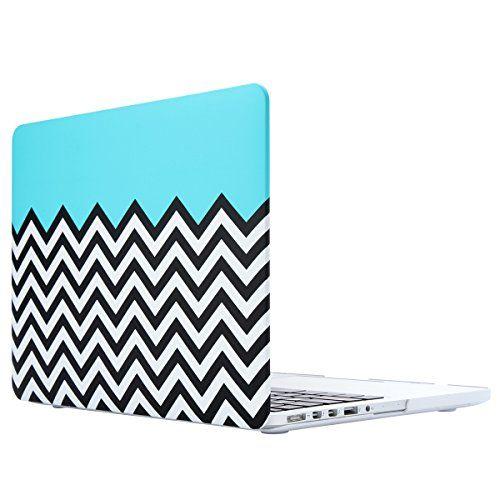 ULAK Patterned MacBook Pro 13 Retina Case, Ultra Slim Lig…