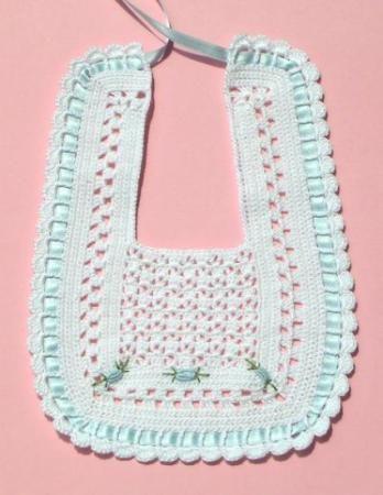 baberos ganchillo - Buscar con Google | crochet | Pinterest ...