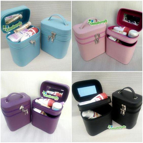 Jual murah tas kosmetik serbaguna, cocok untuk menyimpan segala macam kebutuhan kosmetikan dan perlatan kecantikan lainnya dalam satu wadah.  info: http://id.pricepedia.org/harga/tas-kosmetik.html  #taskosmetik #tasmakeup #taswanita #tasalatmakeup #taskecantikan