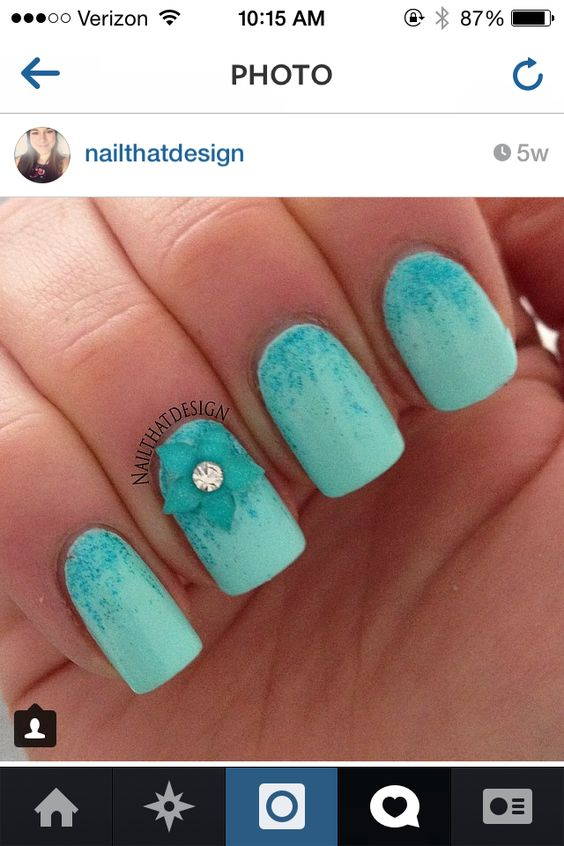 Instagram nails @babs_nails