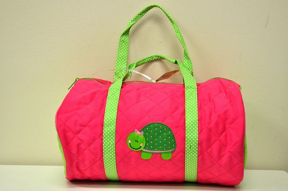 Quilted Duffle Turtle