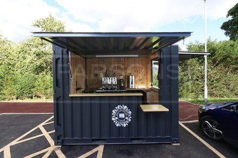 A New 10ft Shipping Container Converted Into A Mobile Coffee Shop En 2020 Tienda De Contenedores Cafeteria Movil Diseno De Cafeteria