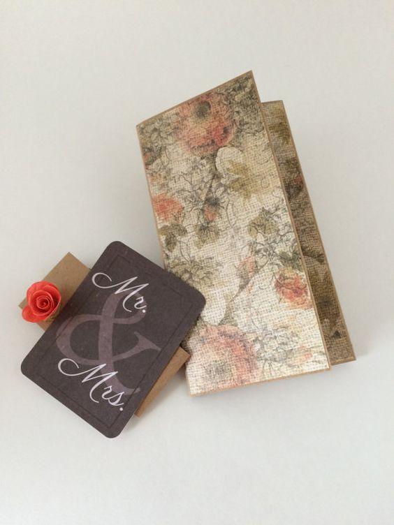 Wedding Card - Wedding Money Envelope, Gift Card - Mr. & Mrs. Wedding ...