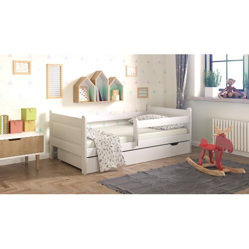 Leon Cabin Bed With Drawer Nordville Size Toddler 70 X 140 Cm
