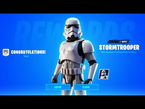 How To Get The Imperial Stormtrooper Skin For Free In Fortnite Chapter 2 Season 2 Star Wars Youtube Star Wars Video Games Imperial Stormtrooper Fortnite