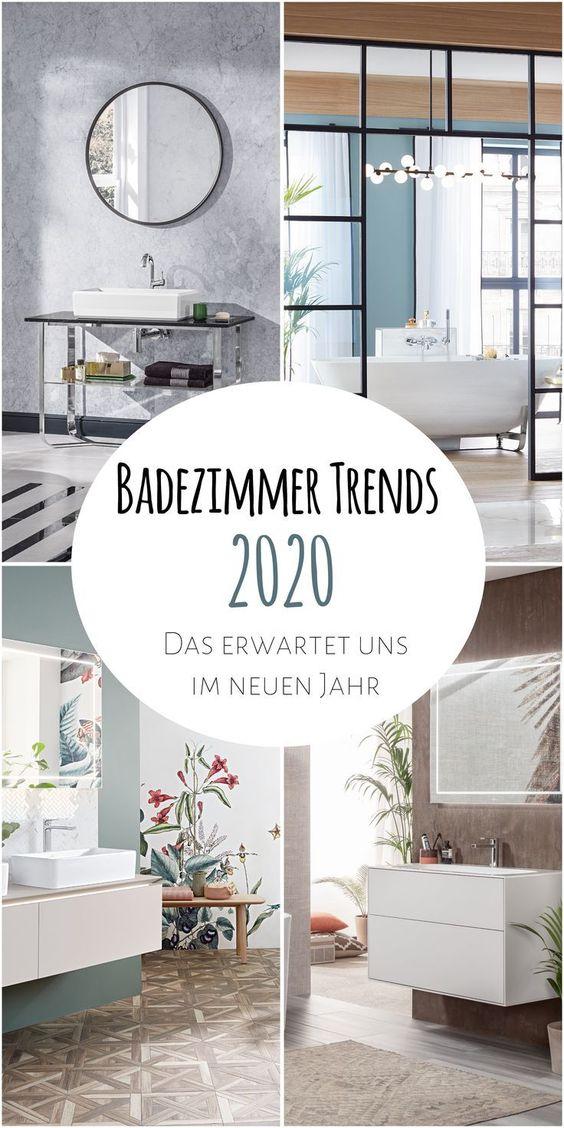 Badezimmer Trends 2020 Das Erwartet Uns Im Neuen Jahr Badezimmer Trends Haus Deko Einrichten Und Wohnen Wohnzimmer