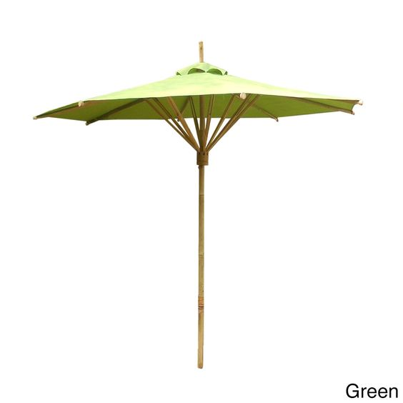 Zew Bamboo Hand-crafted Outdoor Umbrella #AC-151-01